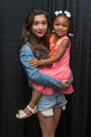 Rowan Blanchard with Premiere Participant
