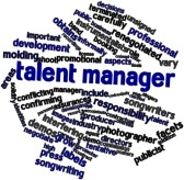 Premiere Talent Manager Word Cluster